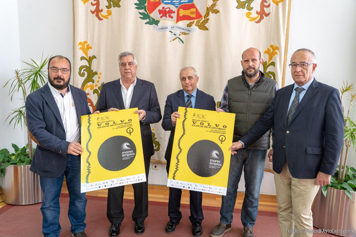 Presentación del XI Grand Trophy VOLVO 'Ciudad de Cartagena'