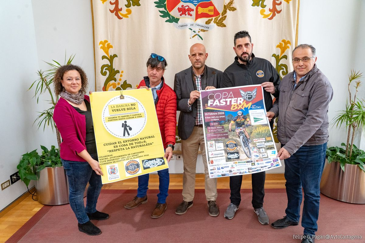 Presentación Copa Faster BXM Al Aljorra