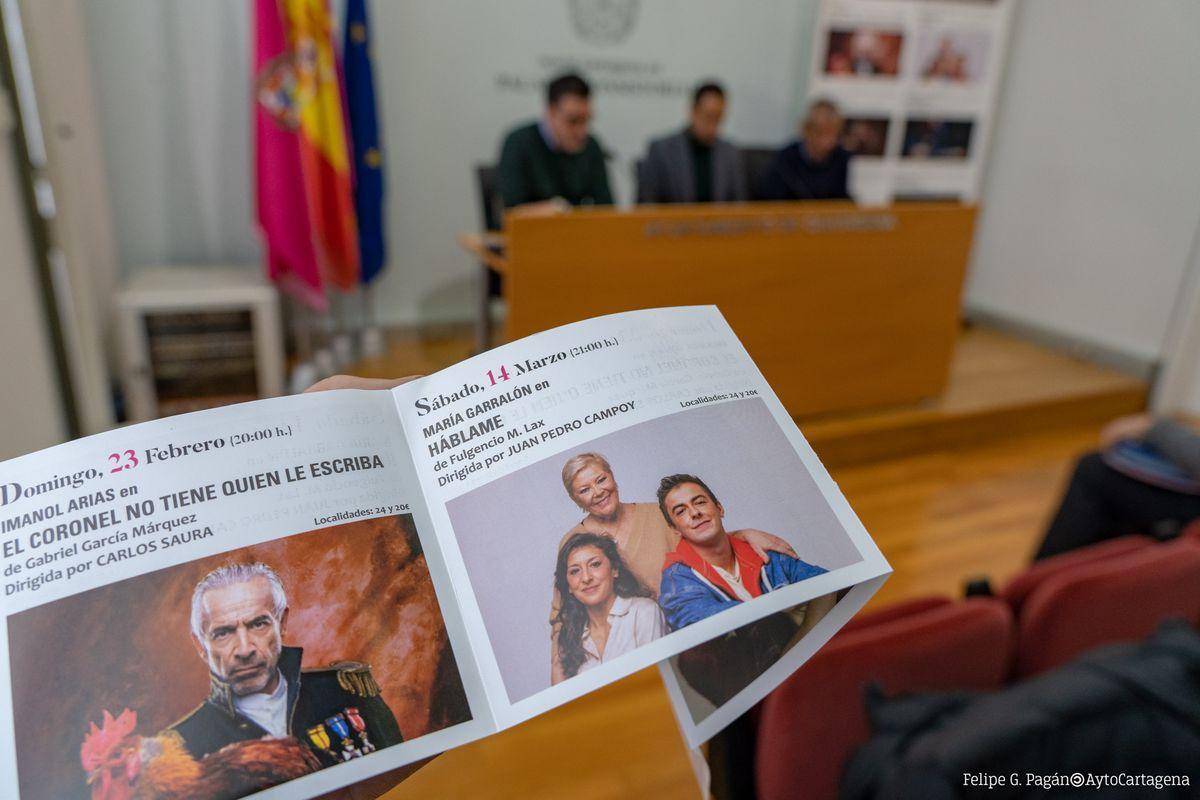 Presentación de la nueva programación del Teatro Circo de Cartagena