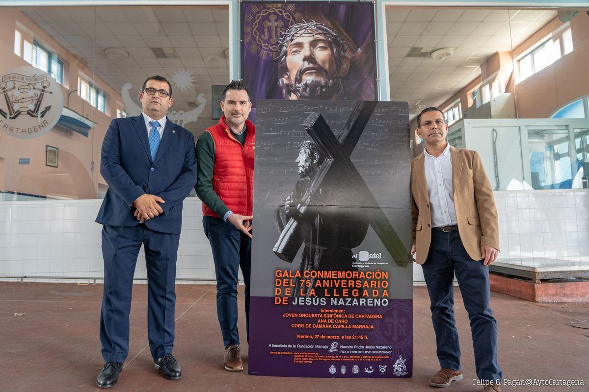 2020-02-20 Presentación Gala Conmemorativa Del 75 Aniversario De La Imagen De Jesus Nazareno