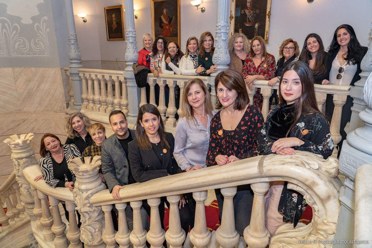 2020-02-21 Presentación Grupo De Mujeres Artistas Cartagena Ciudad Creativa
