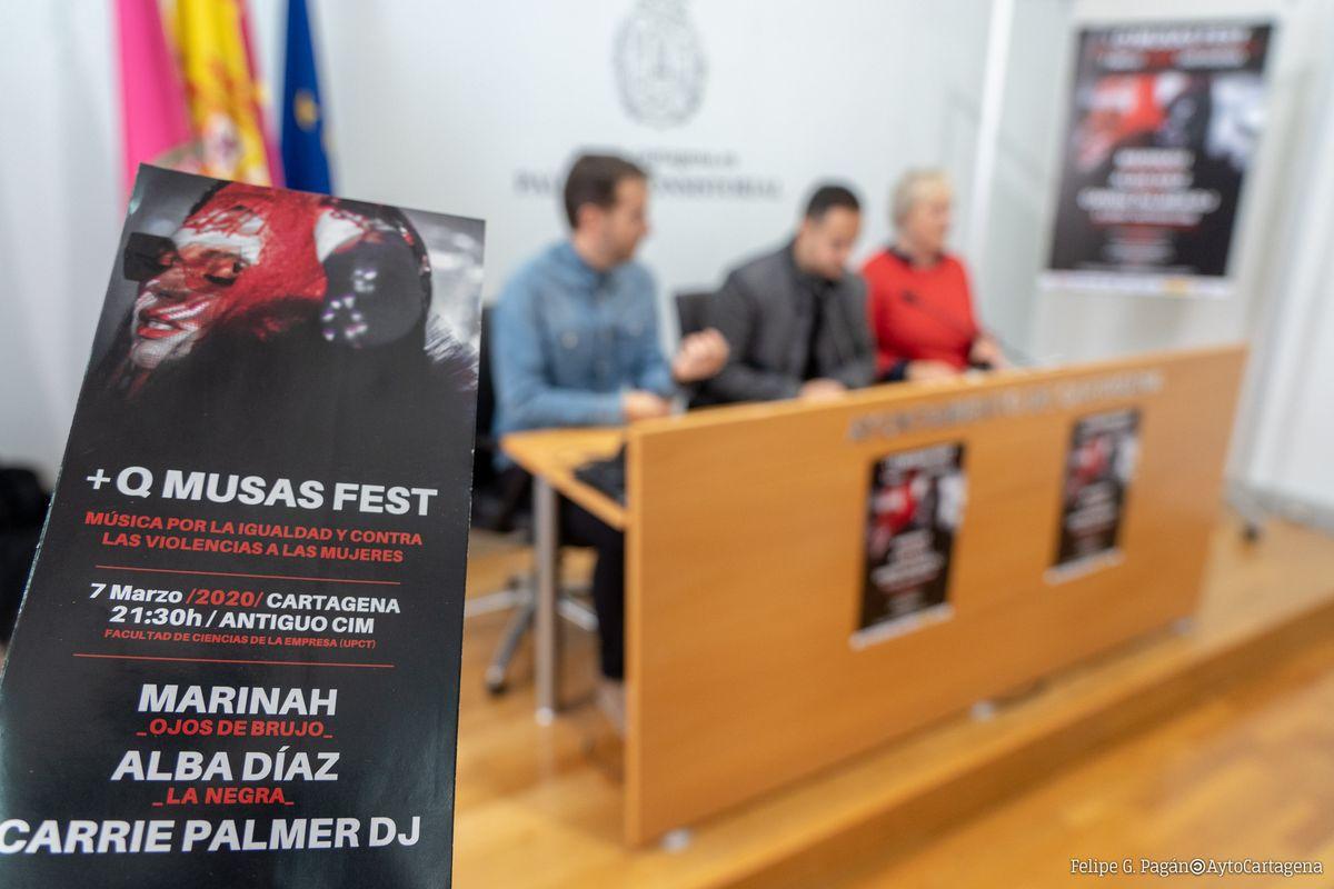 Presentación Festival + que Musas