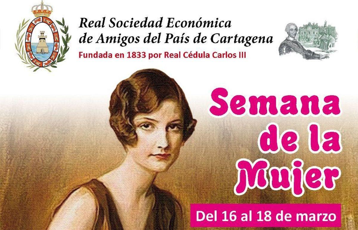 Semana de la Mujer de La Real Sociedad Económica de Amigos del País de Cartagena
