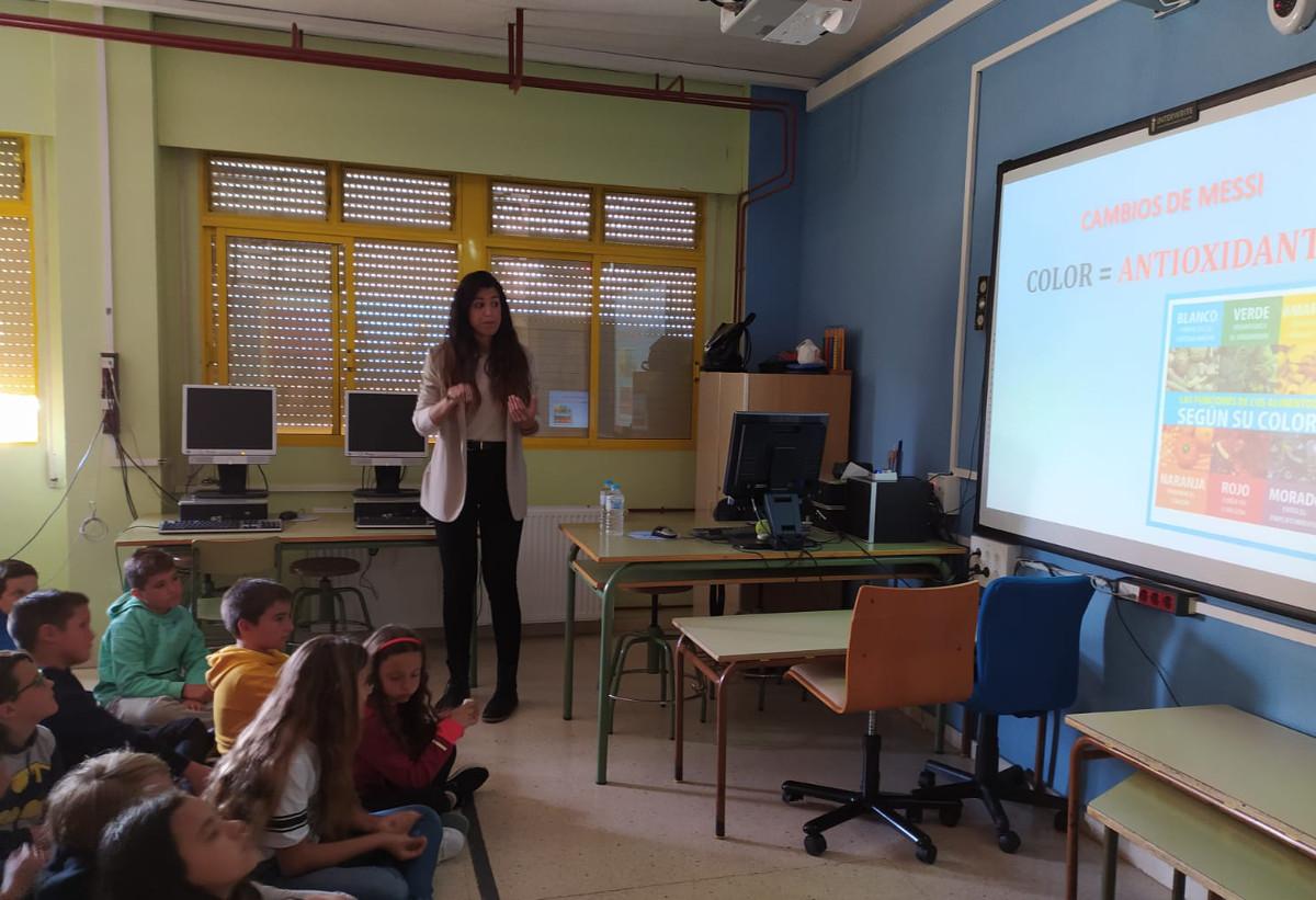 Encuentro Deportes+Nutrición=Salud del programa ADE en el CEIP Alumbres