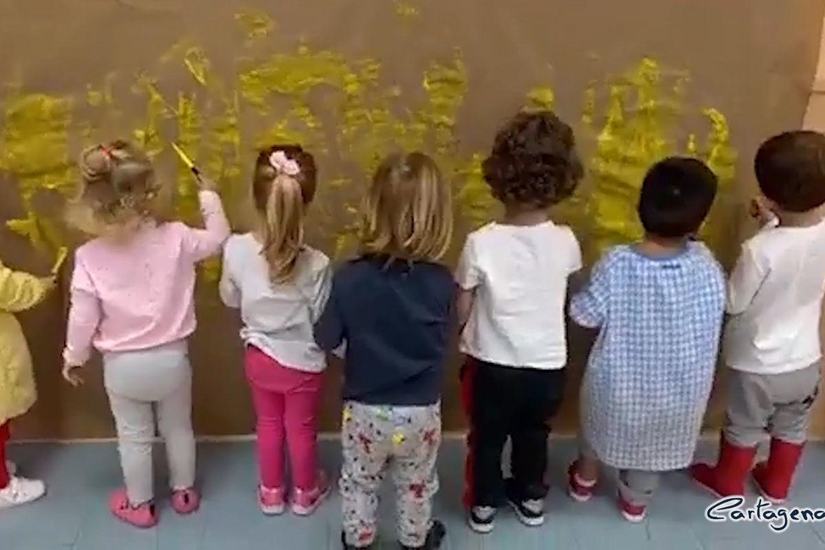 Las escuelas infantiles municipales animan y motivan a los más pequeños a través de vídeos