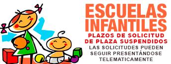 Solicitud de Alta/Renovación y Traslado de plaza Escuelas Infantiles 2020