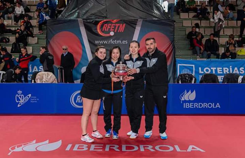 El UCAM Cartagena Tenis de Mesa, campeón de la liga