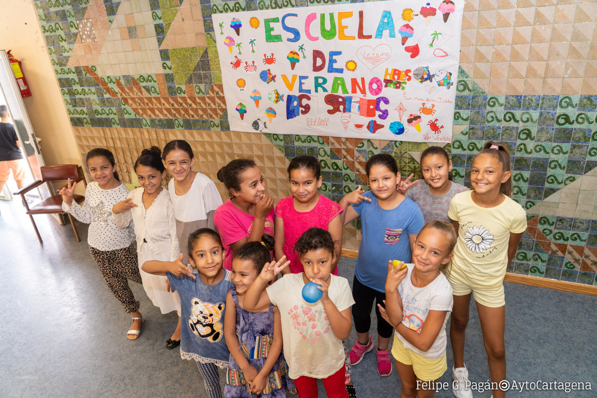 Imagen de archivo de la Escuela de Verano en el colegio Stella Maris