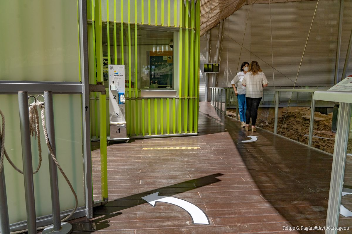 El Barrio del Foro Romano adopta medidas higiénicas y de distanciamiento para su reapertura el lunes 1 de junio