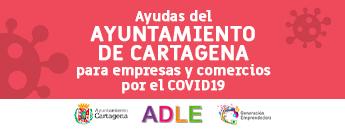 Ayudas del Ayto. de Cartagena para empresas y comercios por el COVID19