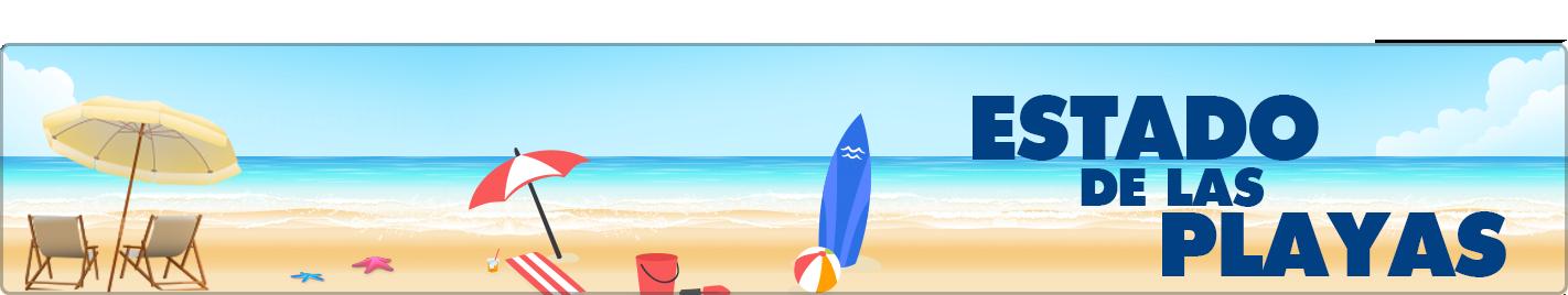 Estado de las playas
