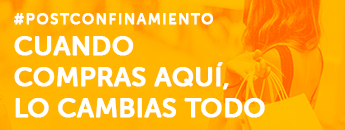 Cartagena inicia una campaña de apoyo al comercio local bajo el lema Cuando compras aquí, lo cambias todo