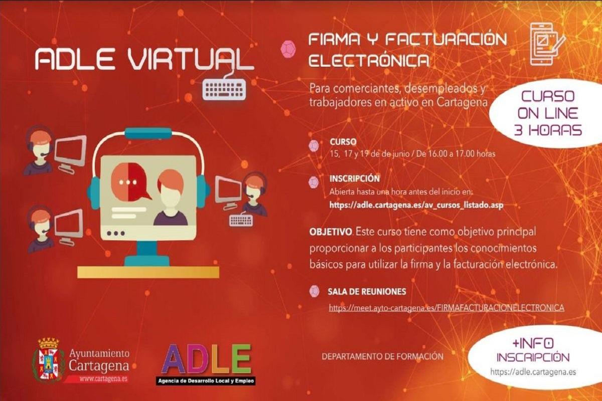 Curso Online de firma y facturación electrónica ADLE