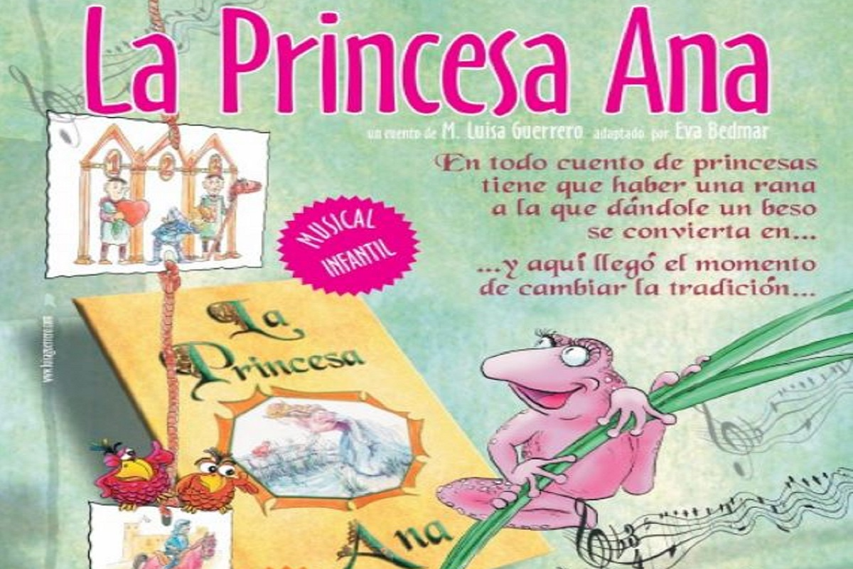 Cuentacuentos por la igualdad, 'La princesa Ana'