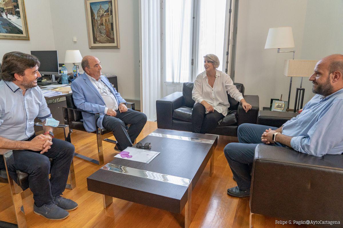 Reunión CBC relevo de presidente