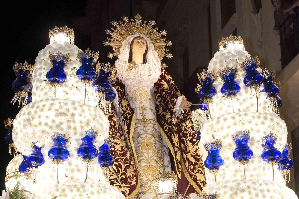 Virgen del Primer Dolor de Mariano Benlliure (Californios)