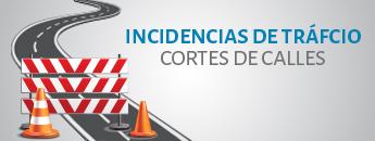 Incidencias de Tráfico - Cortes de Calles