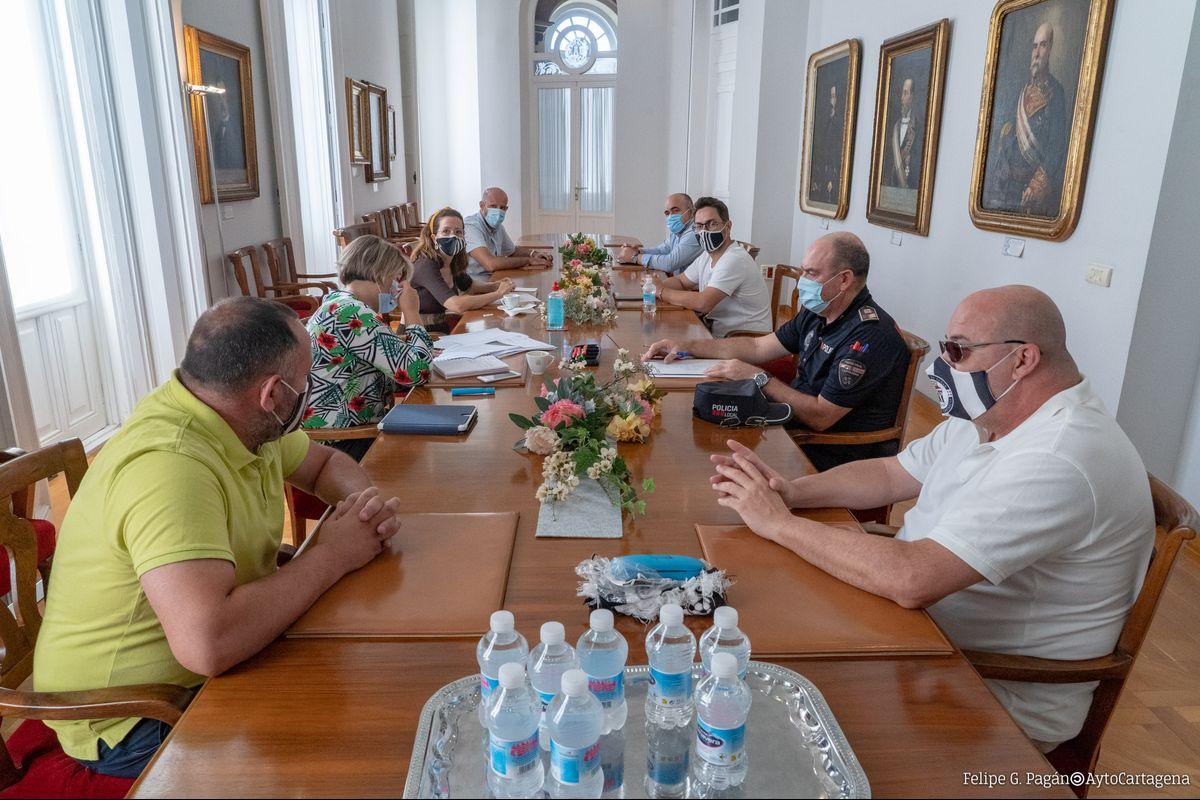 Reunión Seguridad Play Off Ascenso Fc Cartagena