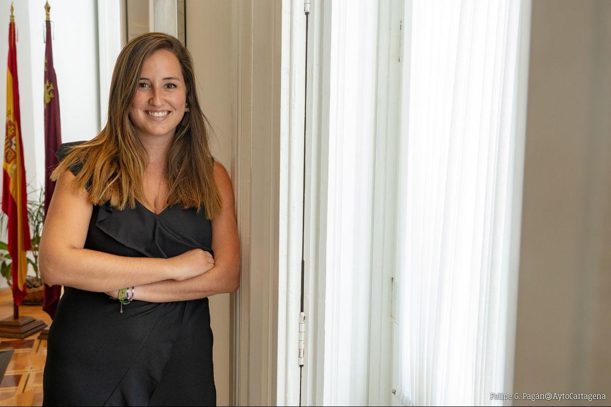 Ganadora Premio Joven Extraordinario 2020, Lola Martínez Aragón