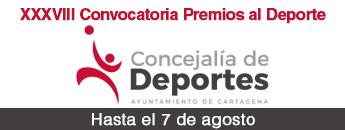 XXXVIII Convocatoria Premios al Deporte. Hasta el 7 de agosto