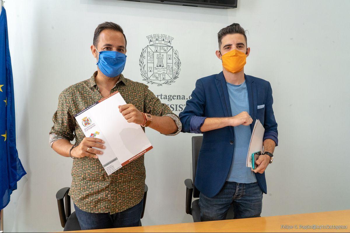 Firma Convenio Con La joven Orquesta De Cartagena JOSCT
