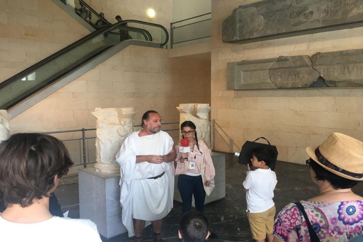 Visitas guiadas al Teatro Romano