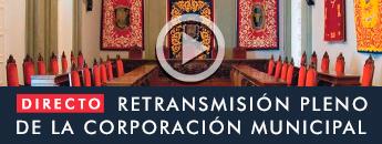 Retransmisión en directo Pleno Ordinario de la Corporación Municipal parte 1