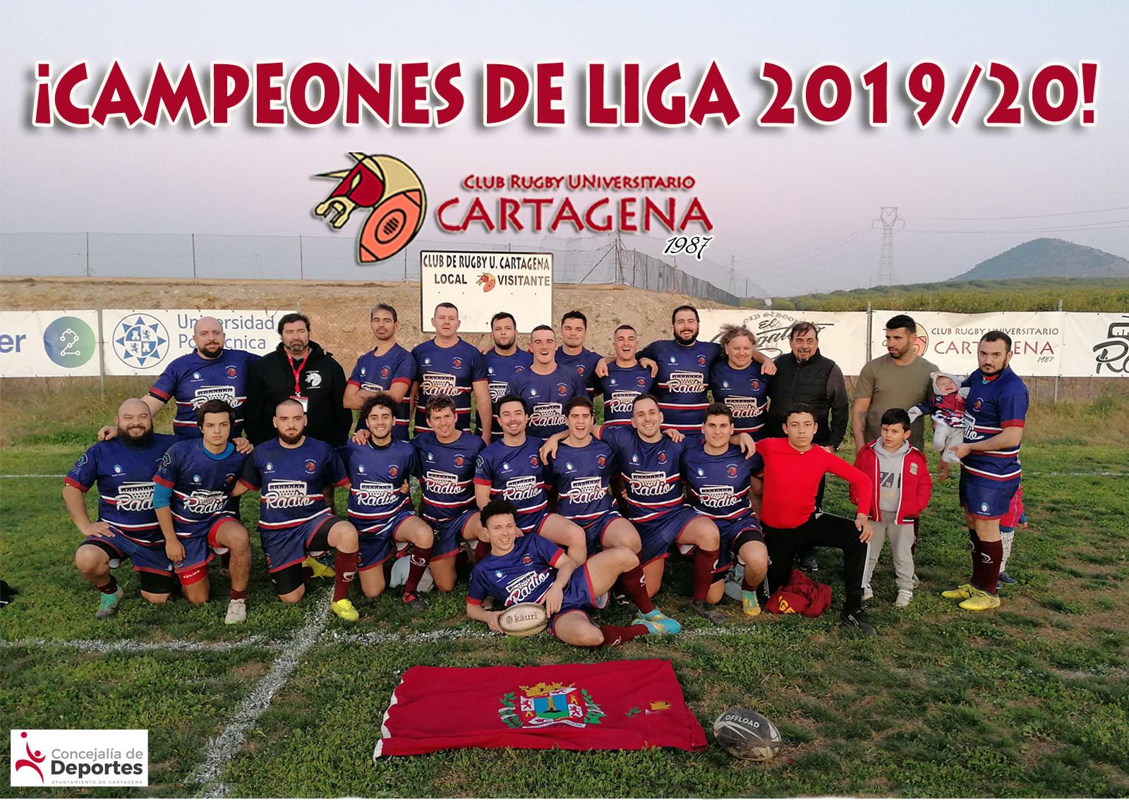 Campeones senior masculino Club de Rugby Universitario