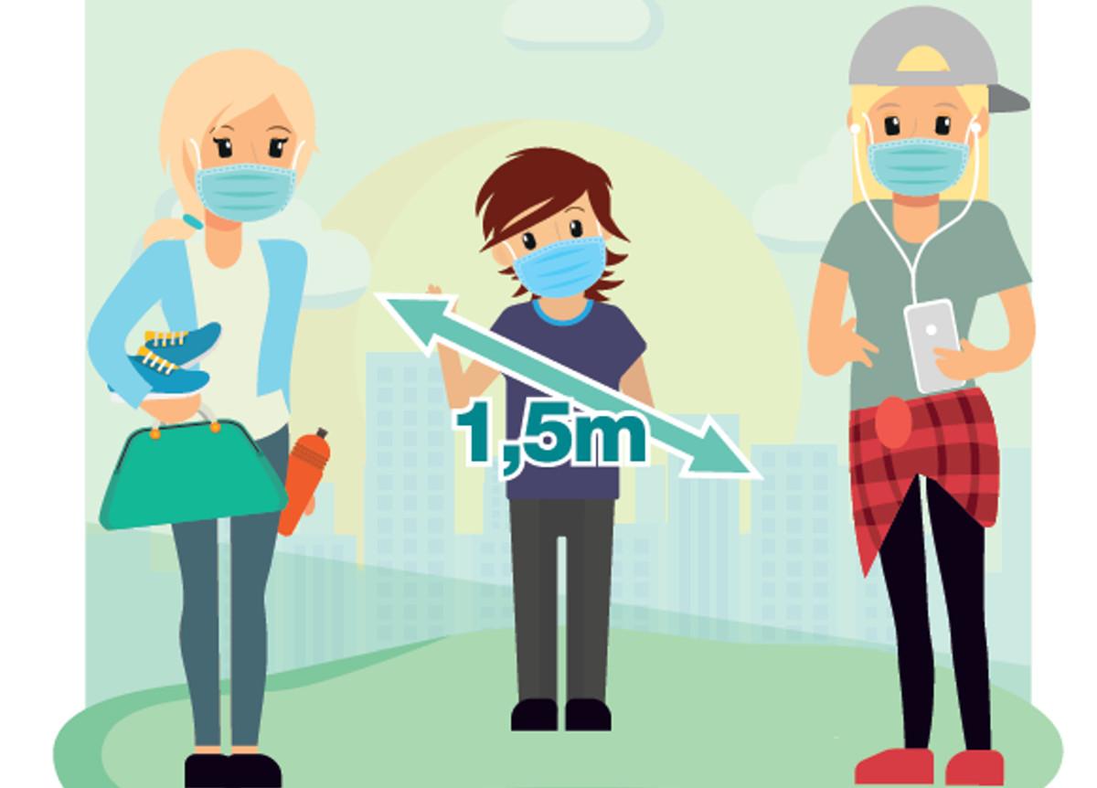 Campaña de la Concejalía de Juventud para proteger a los jóvenes del coronavirus