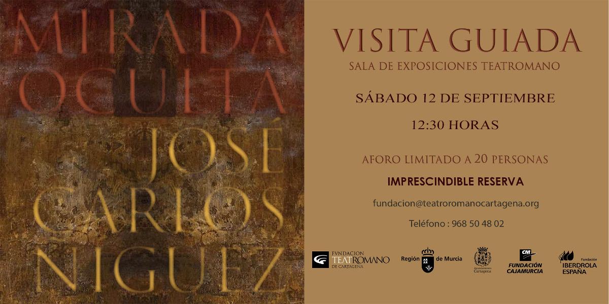 Exposición Mirada Oculta, de José Carlos Ñíguez, en el Museo del Teatro Romano