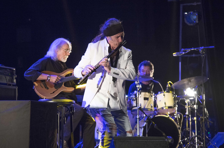 Jorge Pardo, Carles Benavet y Tino Di Gerarldo en el 39 Cartagena Jazz Festival