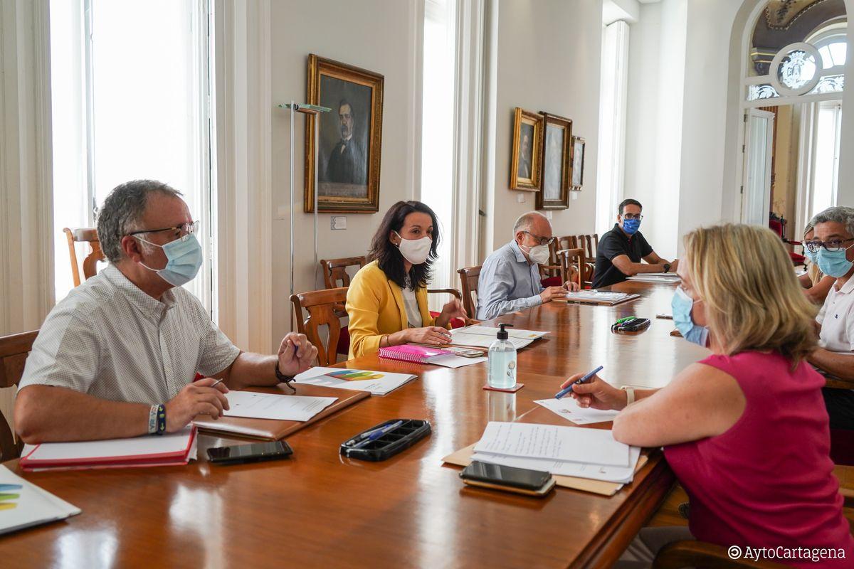 Reunión epidemiología Escuelas Infantiles