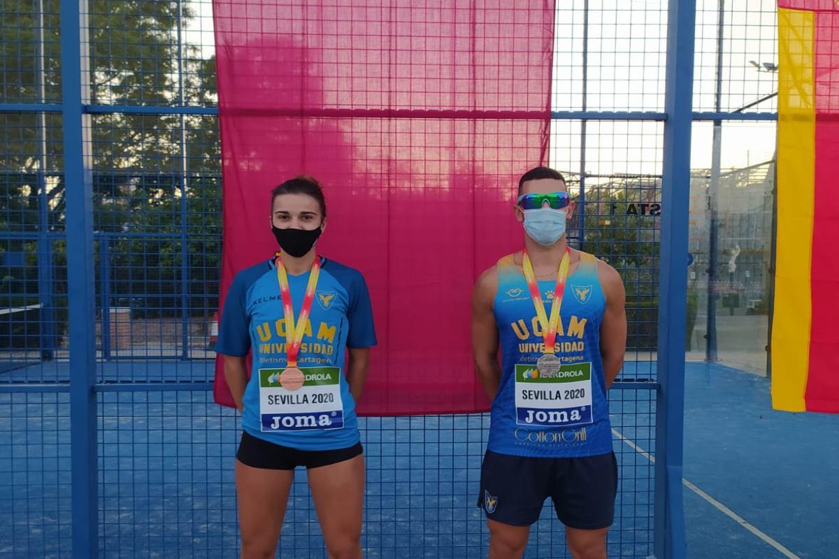 Campeonato atletismo sub23 en Sevilla