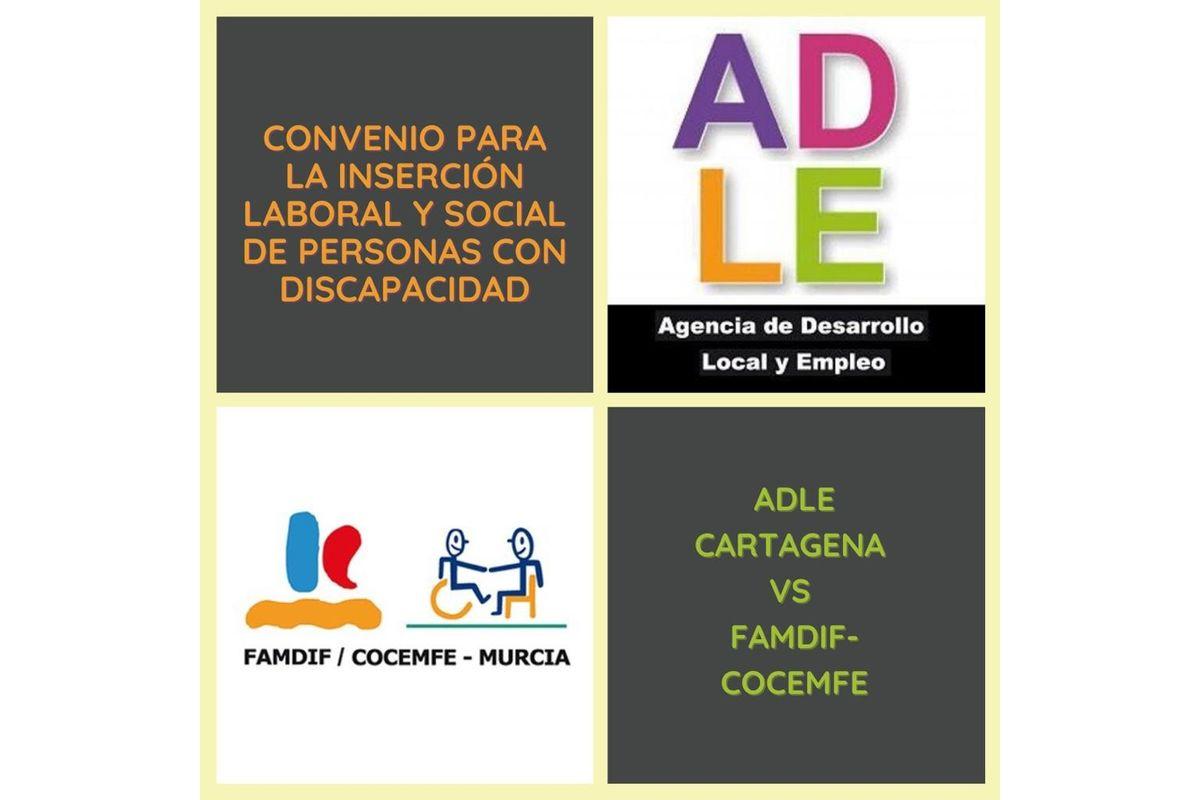 Convenio entre la ADLE y FAMDIF