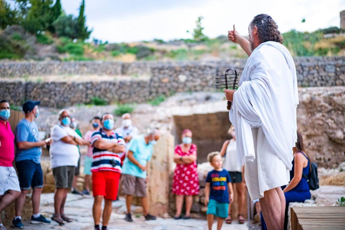 Actividades puerto de culturas y Teatro Romano