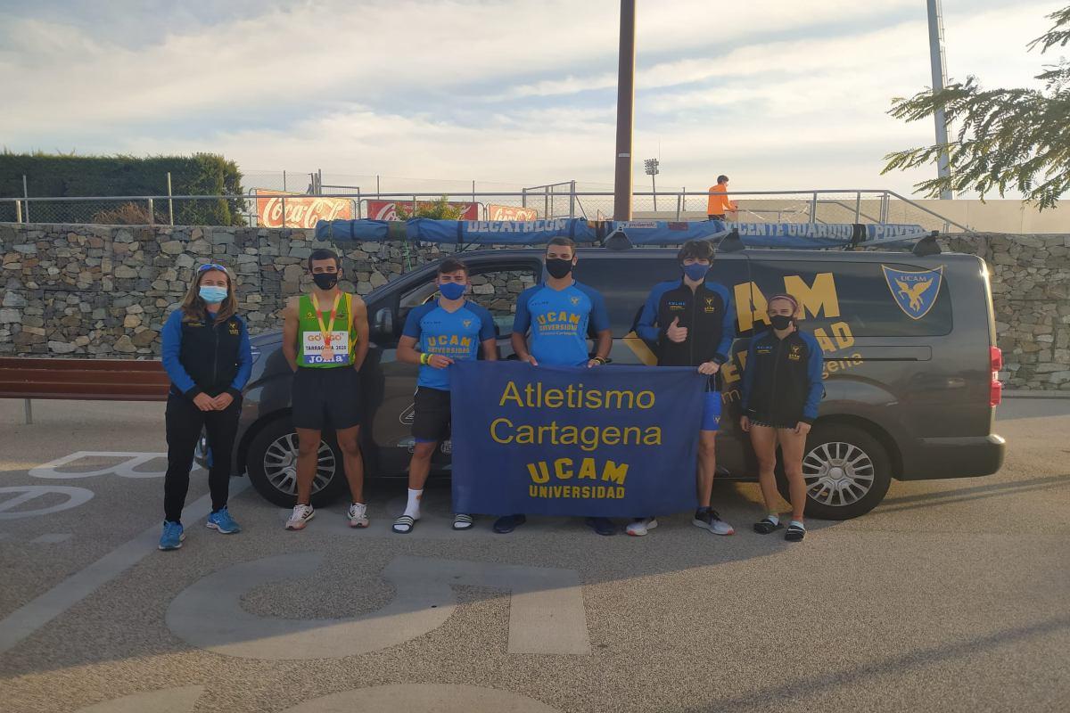 Competición UCAM Atletismo Cartagena en Tarraco