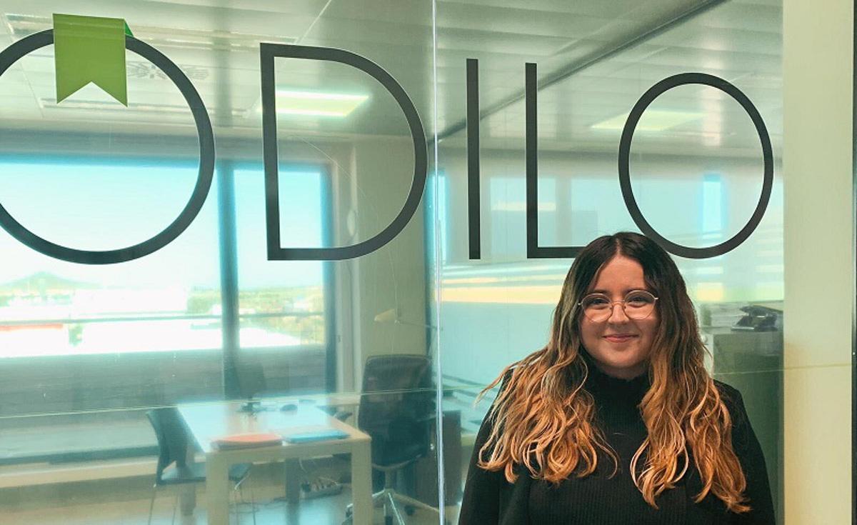 Jessica Segura, joven contratada a través del programa de Retorno de Talento de la Concejalía de Juventud