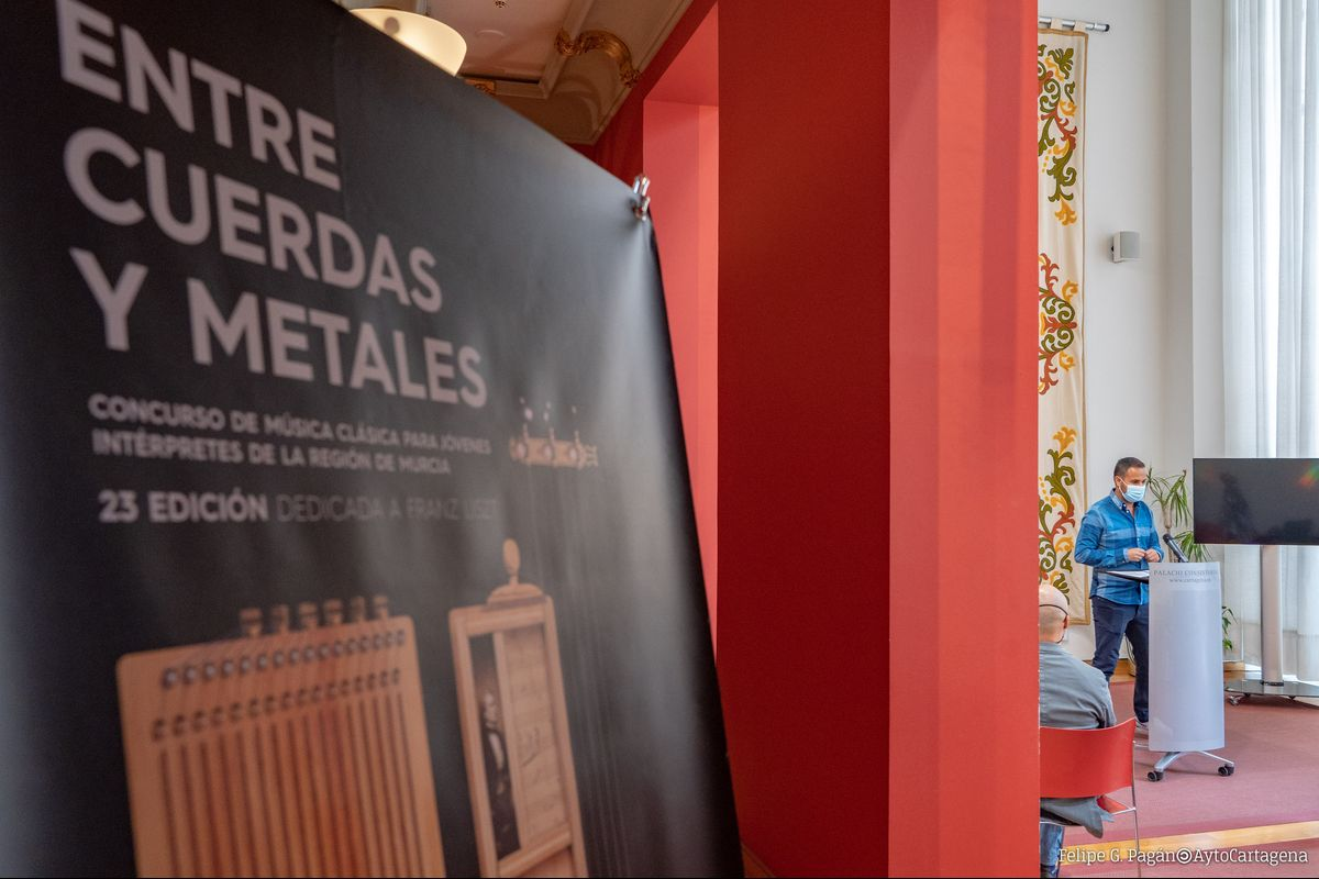 Cartel de la XXIII Edición de Entre Cuerdas y Metales