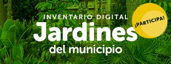 Inventario Digital Jardines del Municipio