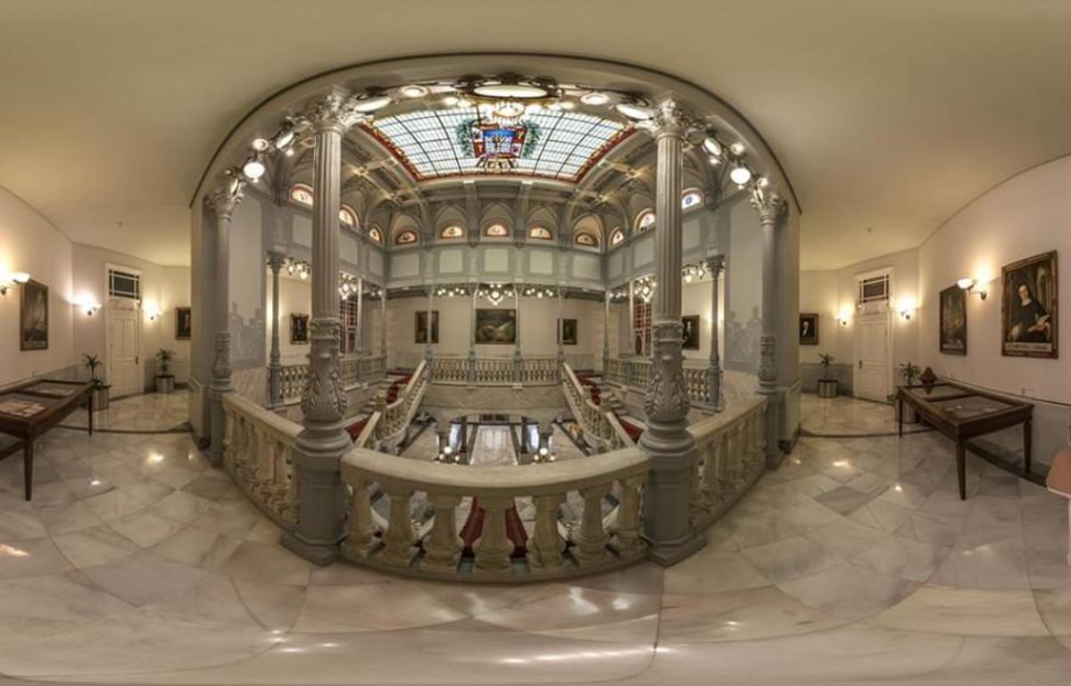 Imagen esférica del Palacio Consistorial