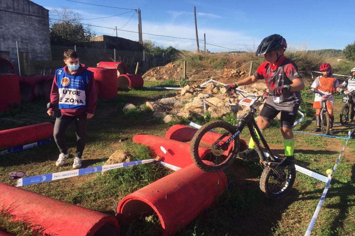 El cartagenero Luis Manuel Martínez queda subcampeón en el campeonato de España de trial bici