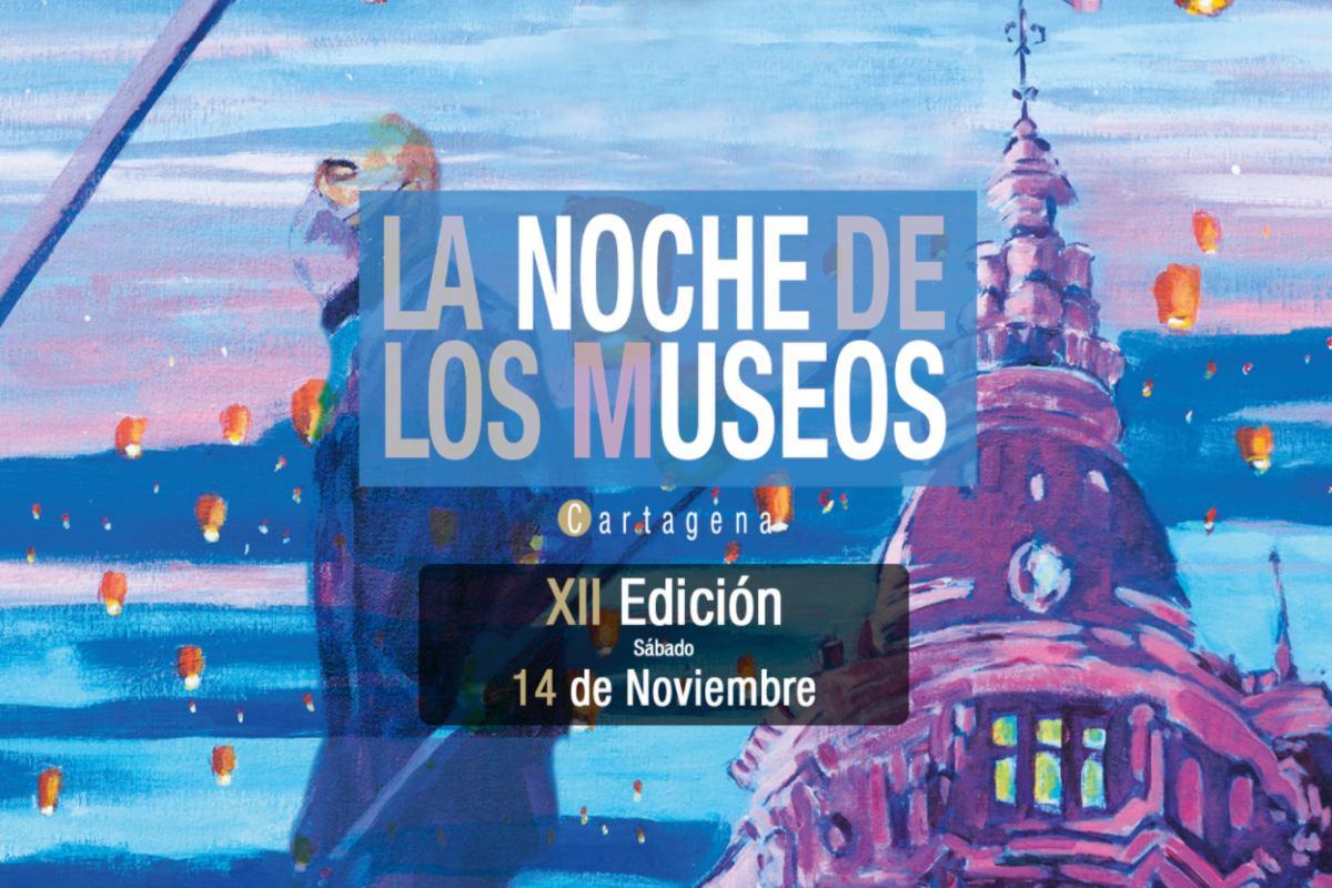 Cartel Noche de Los Museos en Cartagena 2020