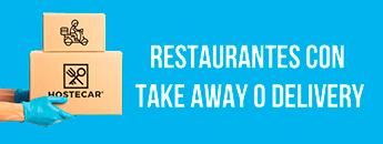 Restaurantes con Take away o Delivery