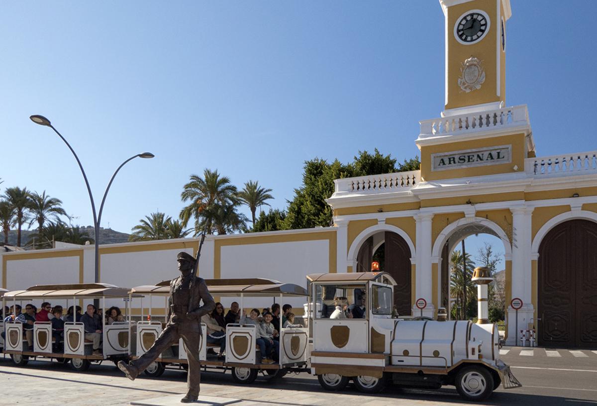 Tren turístico de Cartagena