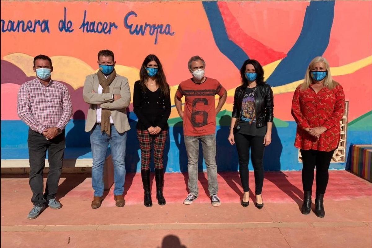 Irene Ruiz en CEIP Los Nietos