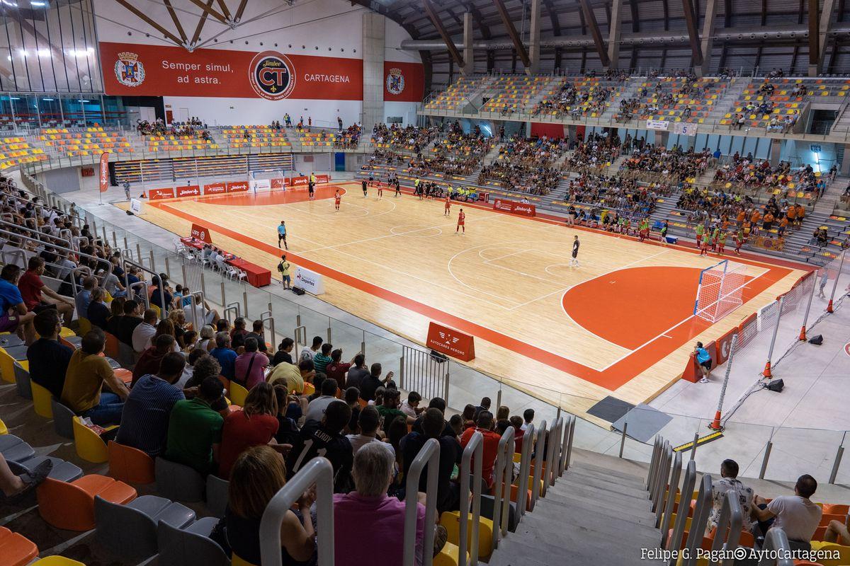 El Jimbee en un encuentro en el Palacio de Deportes. Imagen de archivo