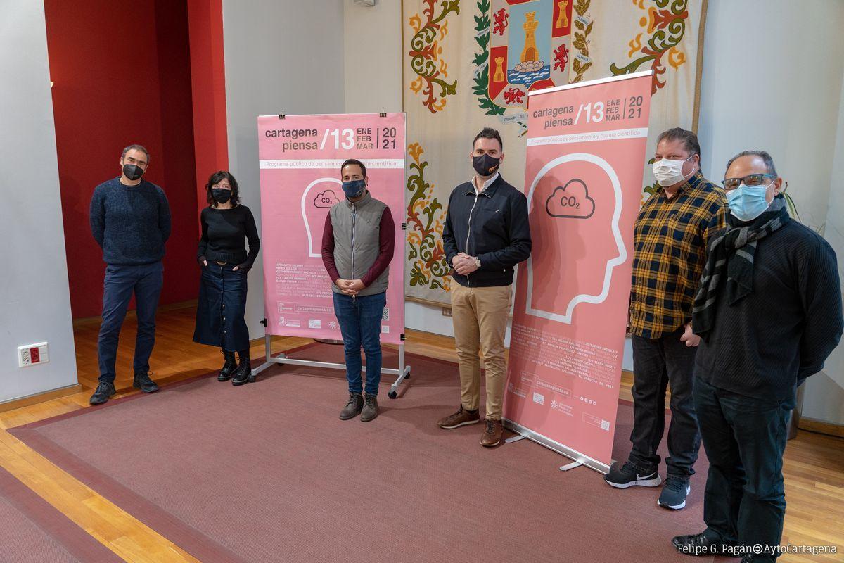 Presentación del programa cultural Cartagena Piensa.