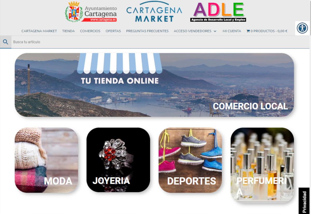 Web Cartagena Market