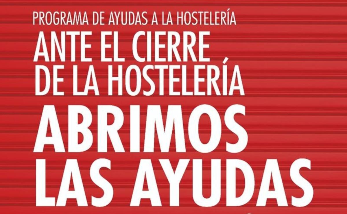 Campaña de ayudas a la hostelería