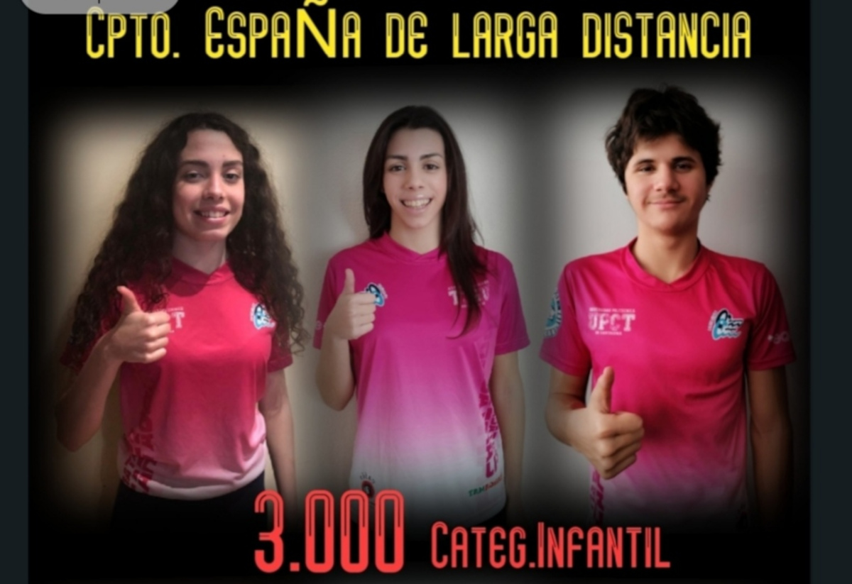 Nadadores del Club Cartagonova-Cartagen a participan en los Campeonatos de España de Larga Distancia